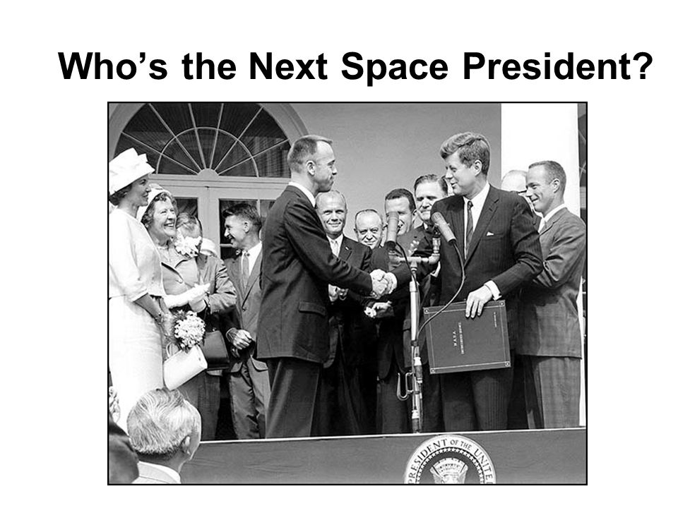Whos the Next Space President?