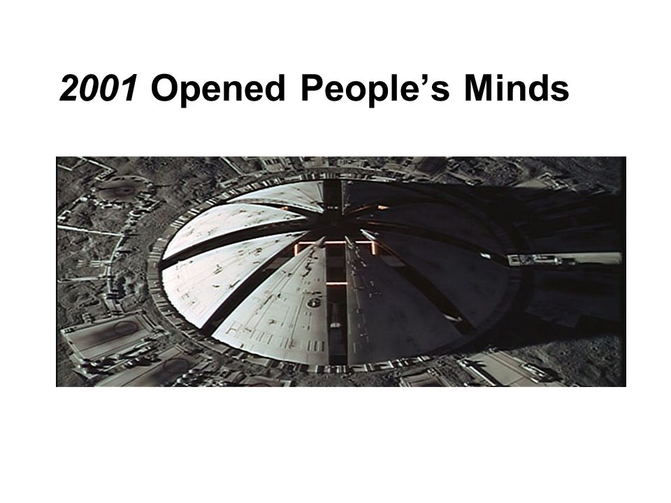 2001 Opened Peoples Minds