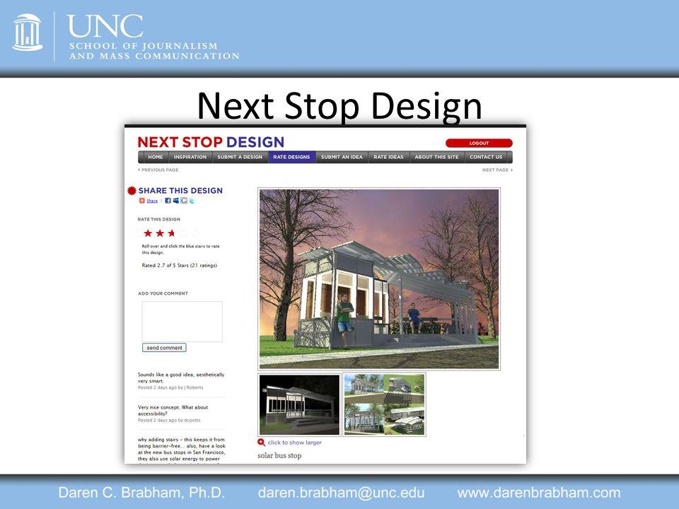 Next Stop Design