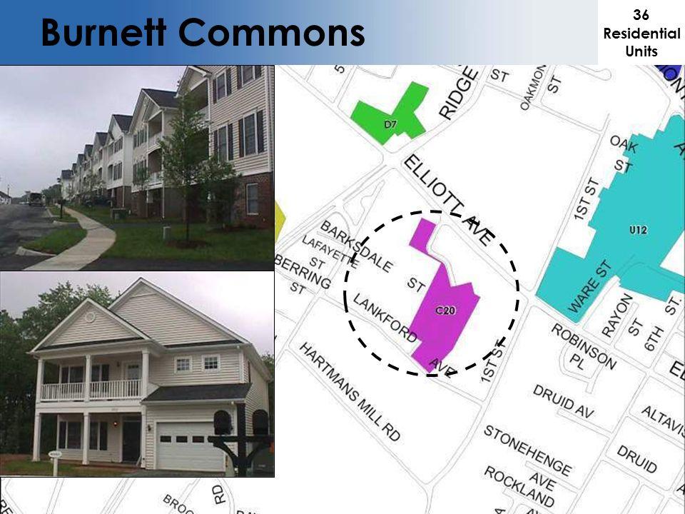 36 Residential Units Burnett Commons