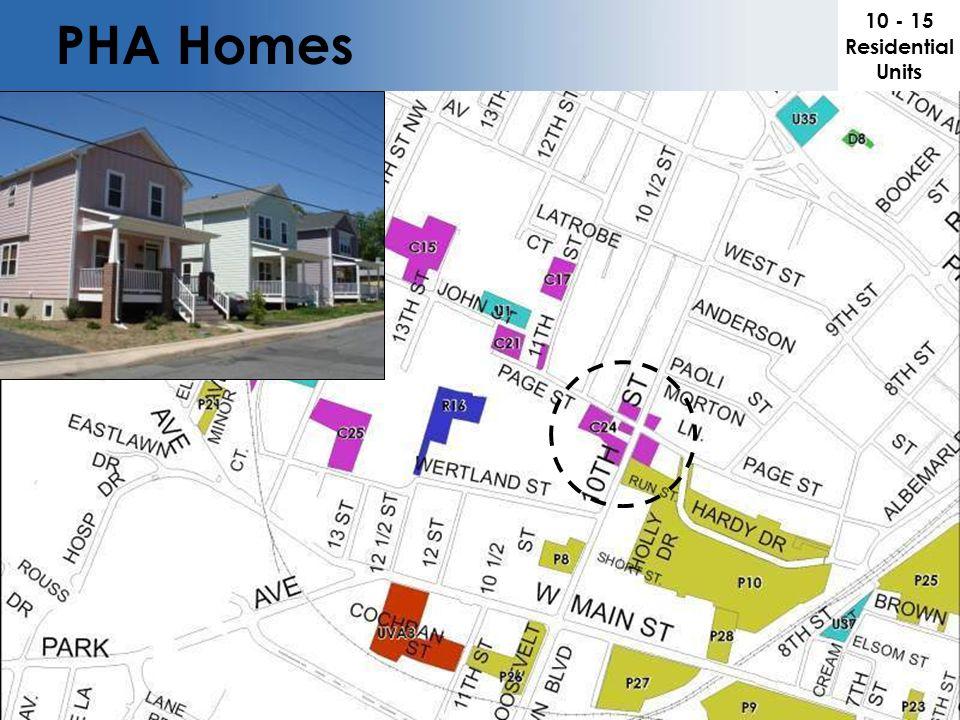 PHA Homes 10 - 15 Residential Units