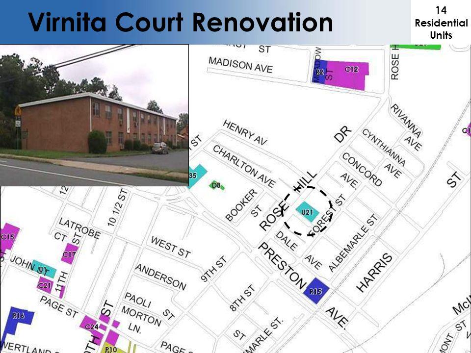 Virnita Court Renovation 14 Residential Units