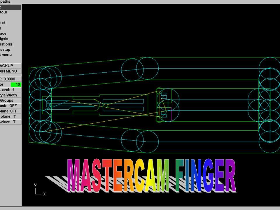 Mastercam Finger