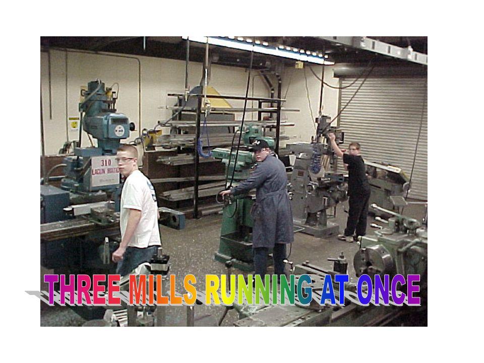 Machining-3 mills