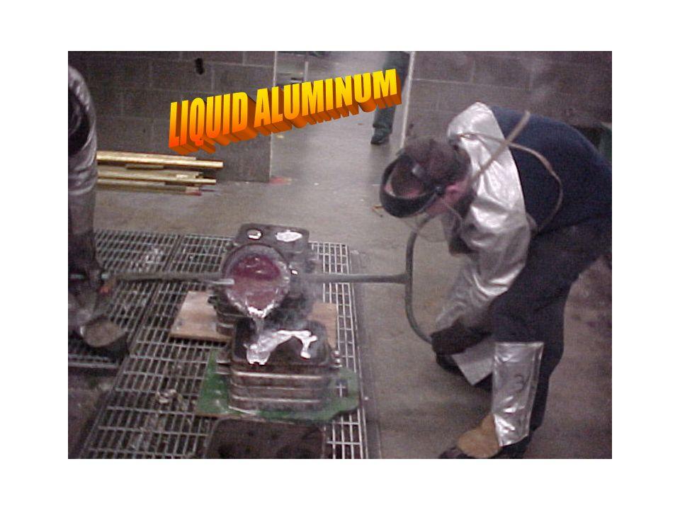 Liquid aluminum
