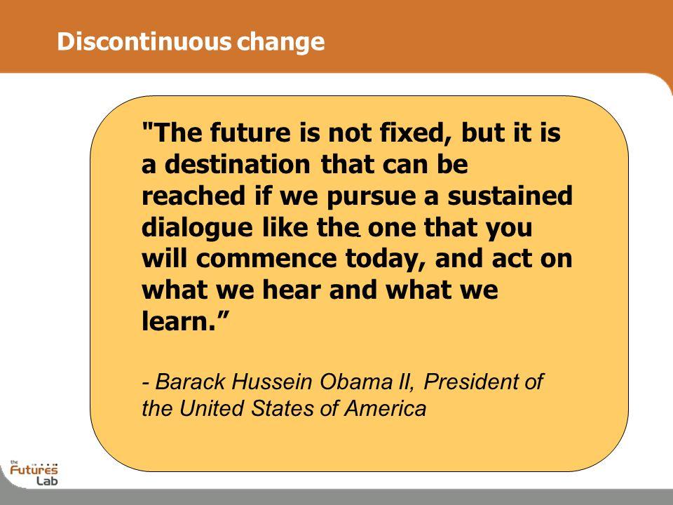 2 Discontinuous change -