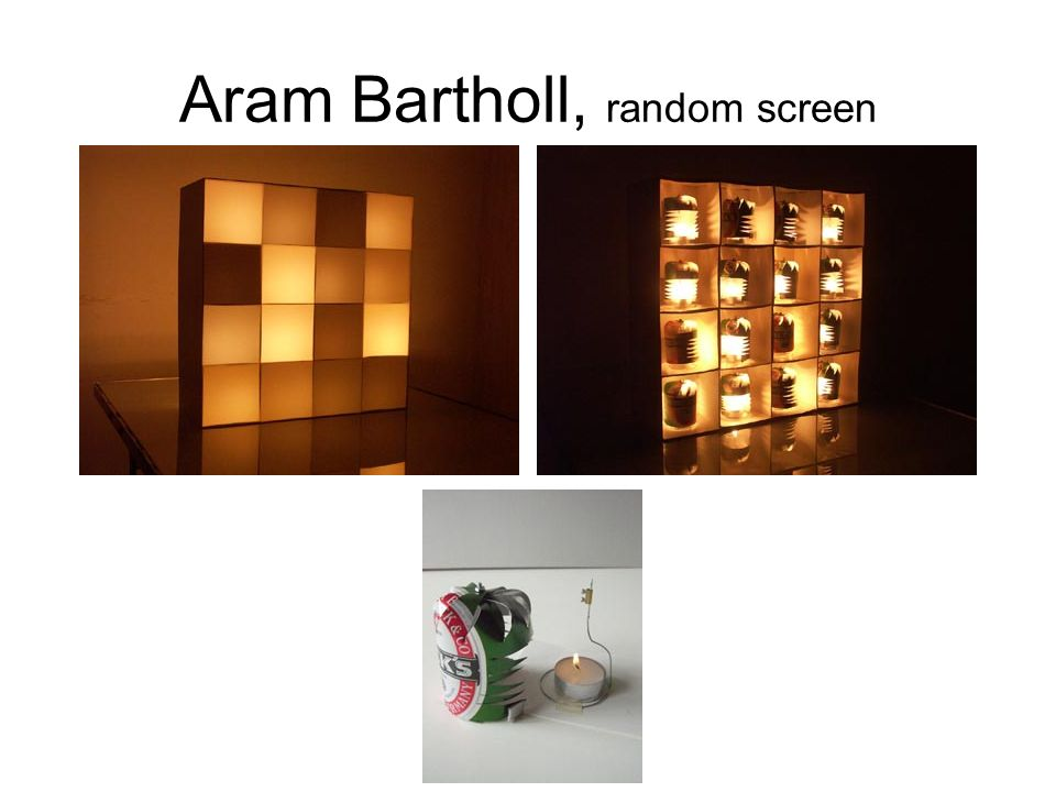 Aram Bartholl, random screen
