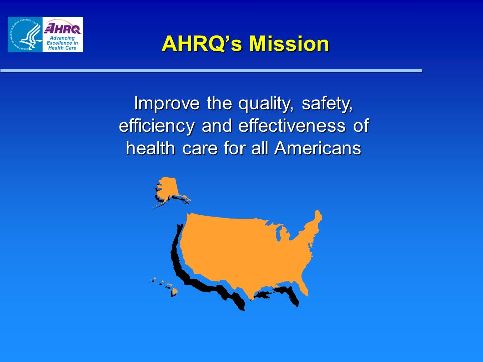 Turning Evidence Into Action: AHRQ Resources and Priorities Turning Evidence Into Action: AHRQ Resources and Priorities Comparative Effectiveness: Effective Health Care Comparative Effectiveness: Effective Health Care Current and Future Directions for Health IT Current and Future Directions for Health IT 21 st Century Health Care 21 st Century Health Care Q&A Q&A Making Todays Goals Tomorrows Reality