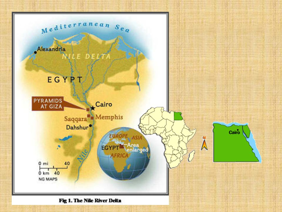 Geography Ancient Egypt was divided into two regions: Upper and Lower Egypt Lower (northern) Egypt consisted of the Nile River's delta made by the riv