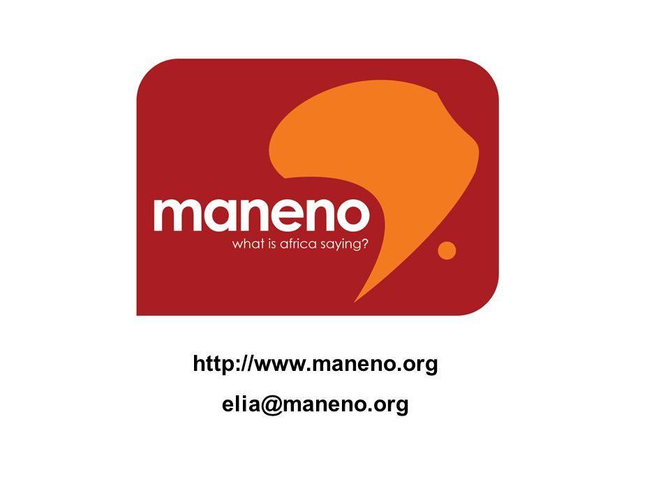 http://www.maneno.org elia@maneno.org