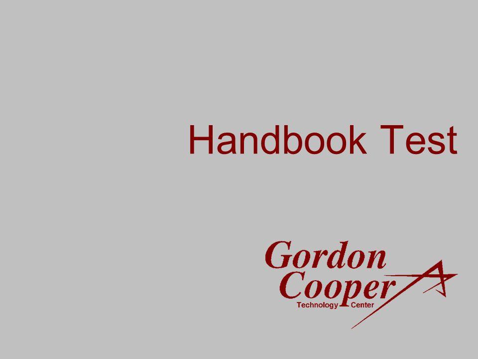Handbook Test