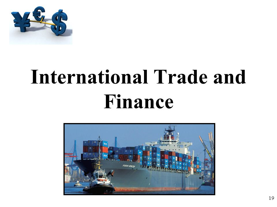 International Trade and Finance 19