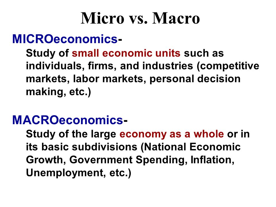 Economics Defined Economics-Social science concerned with the efficient use of limited resources to achieve maximum satisfaction of economic wants. (S