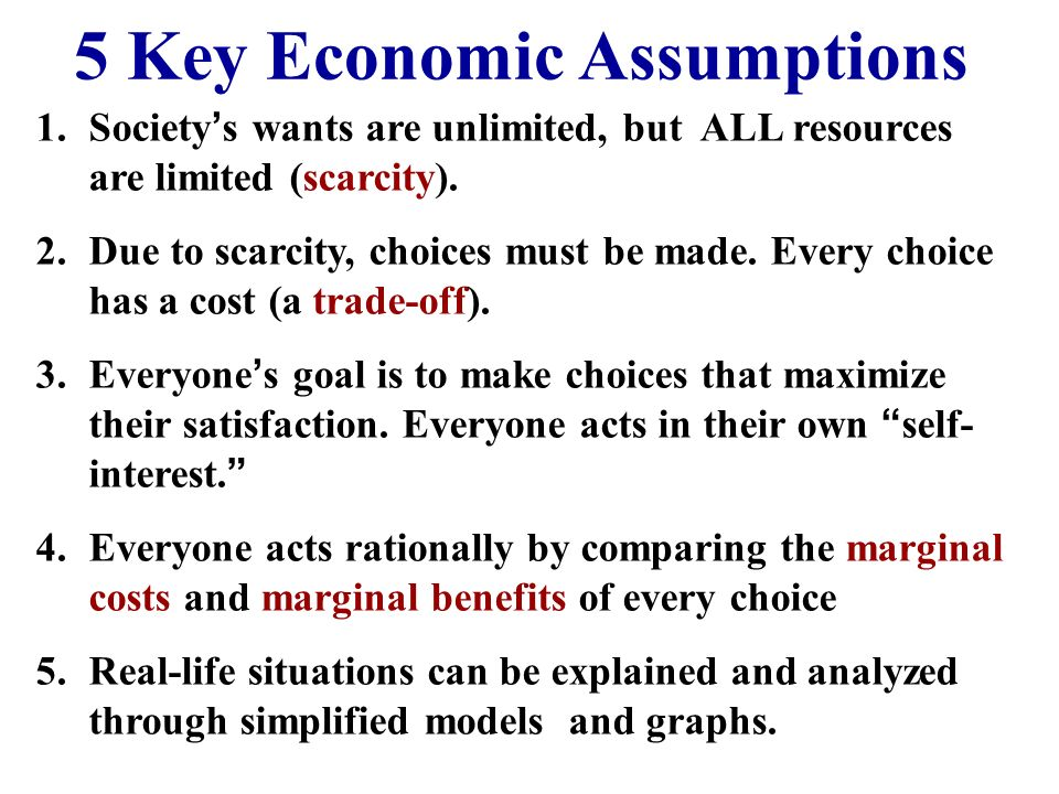 Marginal Analysis In economics the term marginal = additional Thinking on the margin, or MARGINAL ANALYSIS involves making decisions based on the addi