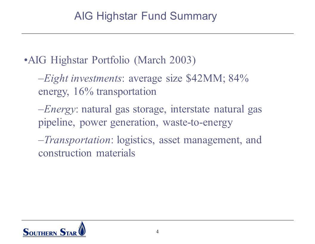 3 AIG Highstar Capital, L.P.