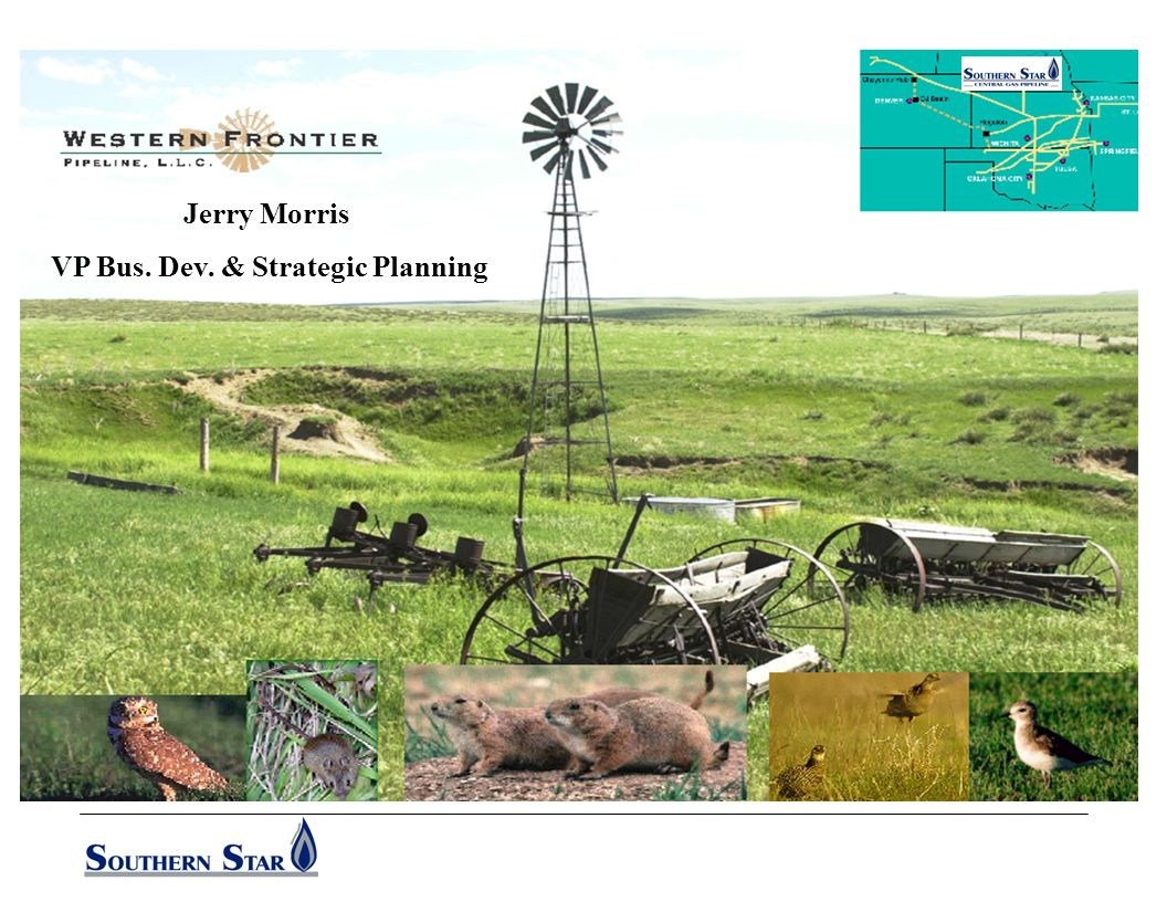 99 Years of Continuous Quality Service S O U T H E R N S T A R C E N T R A L G A S P I P E L I N E Rockies Production Growth Production in Wyoming totals about 4.2 Bcfd now and if environmental and regulatory delays can be cleared, could grow to in excess of 6 Bcfd over the next 5 years Wyoming state budget is heavily dependent upon revenues received from mineral production produced from state & federal lands.