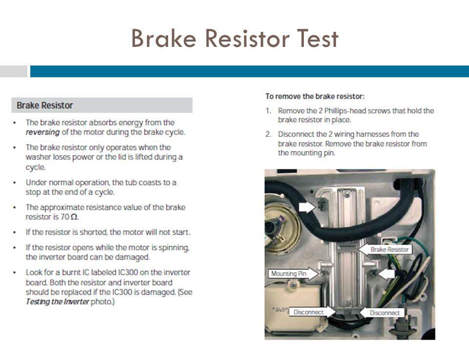 Brake Resistor Test