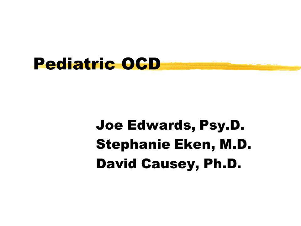 OCD is a neuropsychiatric disorder Neuropsychology has identified the following symptoms: y Non-verbal skills < Verbal Reasoning skills (which place kids at risk for dysgraphia, dyscalculia, poor written language skills, & reduced processing speed & efficiency) y Association with Asperger Syndrome yAlso included on list of symptoms found in Childhood Bipolar Disorder