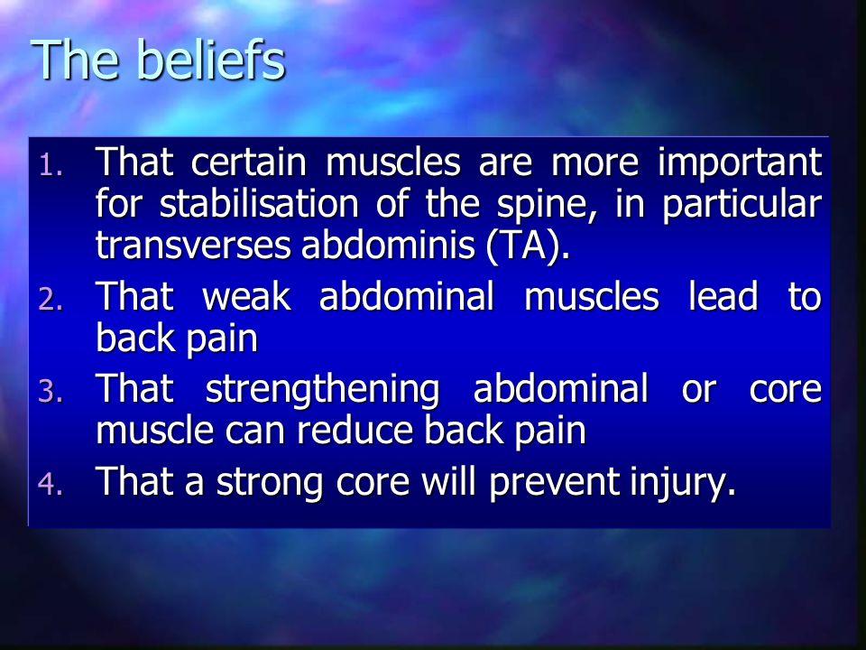 Prof. Eyal Lederman DO PhD The Myth of Core Stability