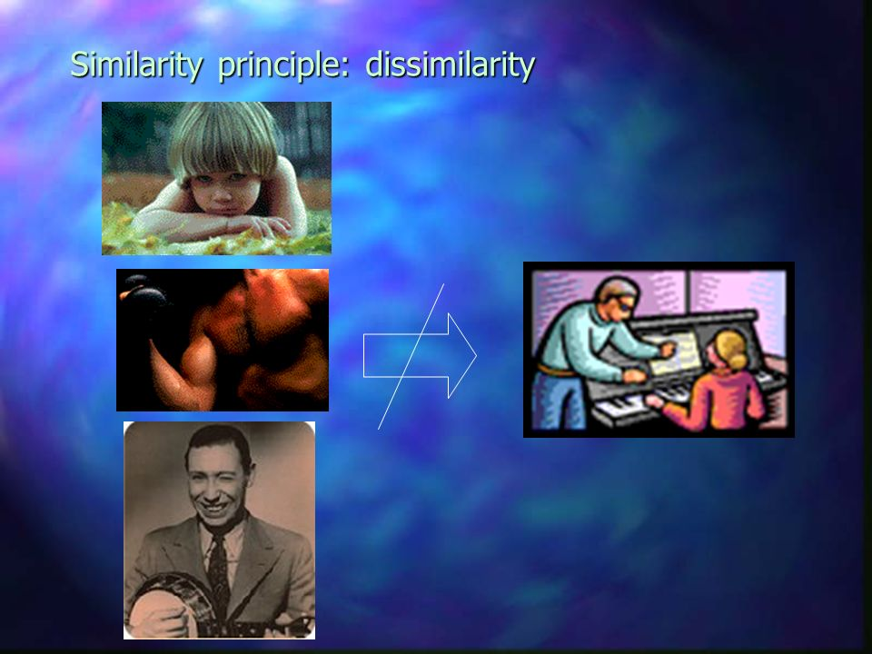 Similarity principle You learn what youve practiced