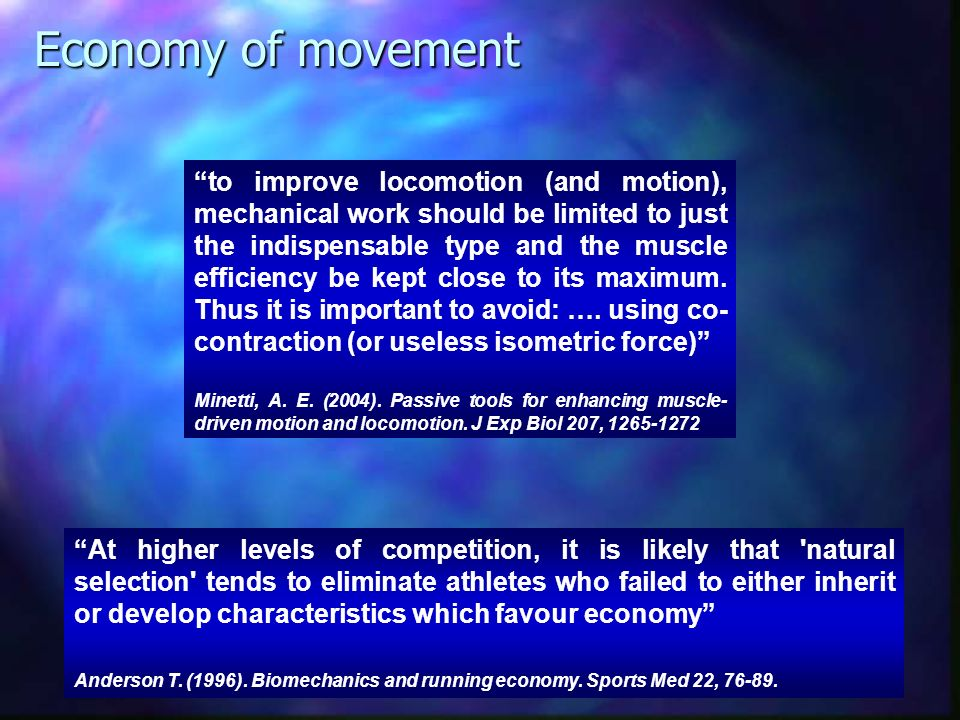 Co-contraction Reciprocal activation Practice Energy expenditure