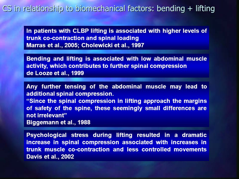 Which is better for developing spinal stability? No difference in muscle activation of 14 trunk muscles No difference in stability and spinal compress
