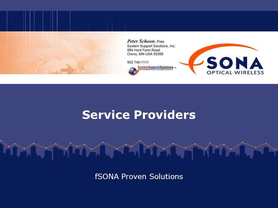 Service Providers fSONA Proven Solutions