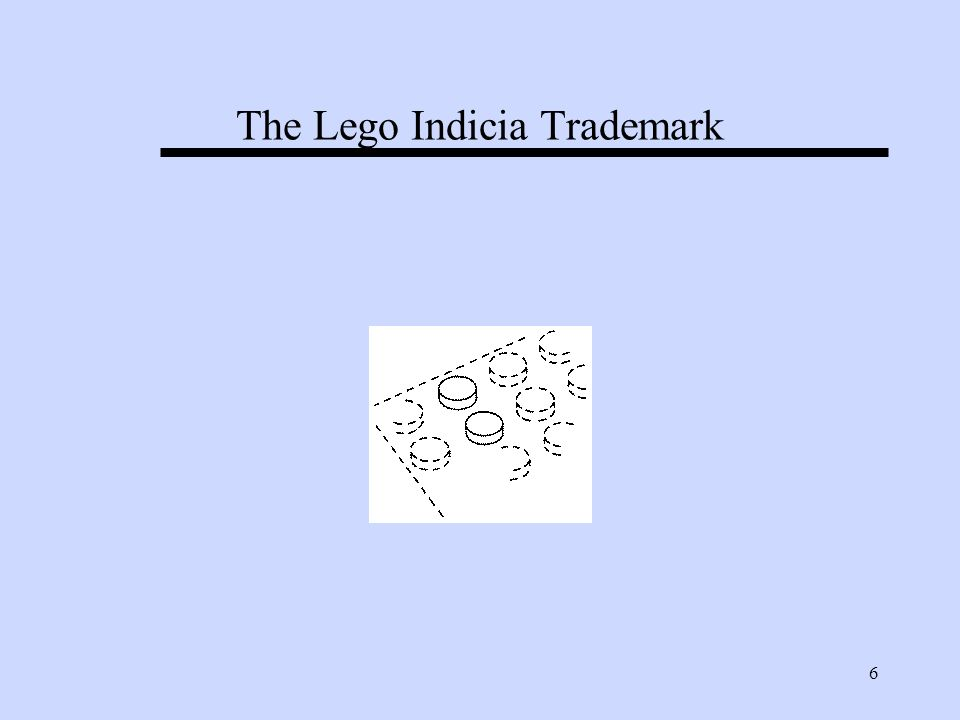 6 The Lego Indicia Trademark