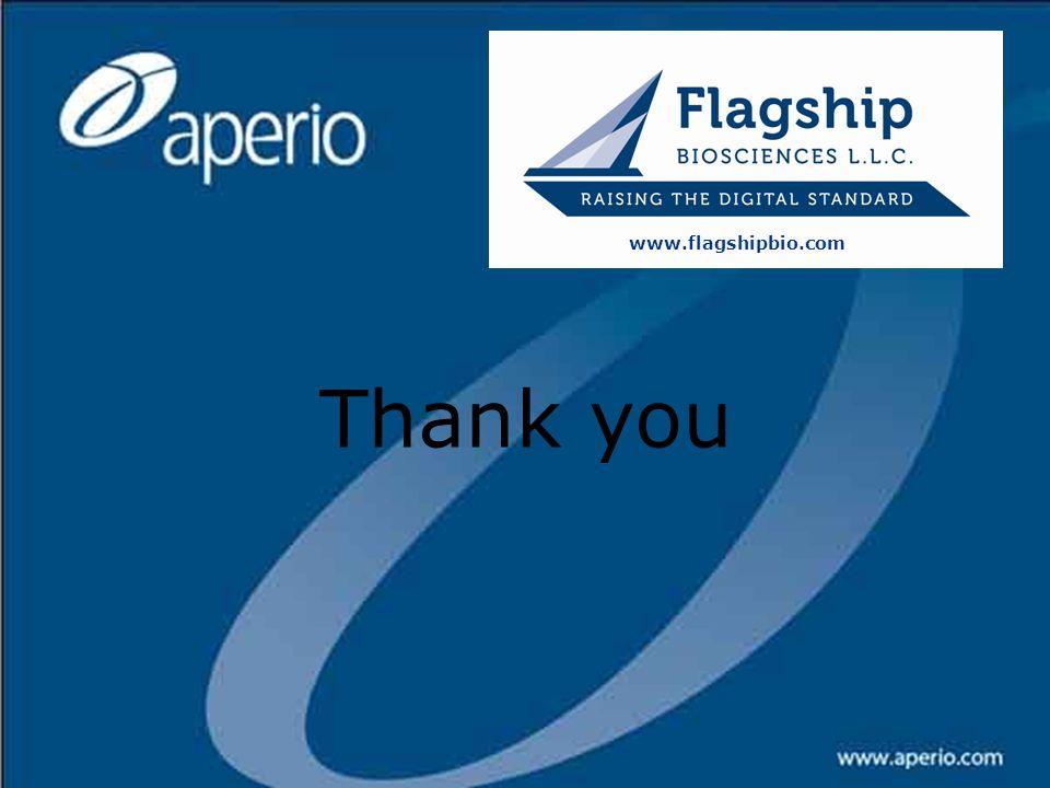 www.flagshipbio.com Thank you