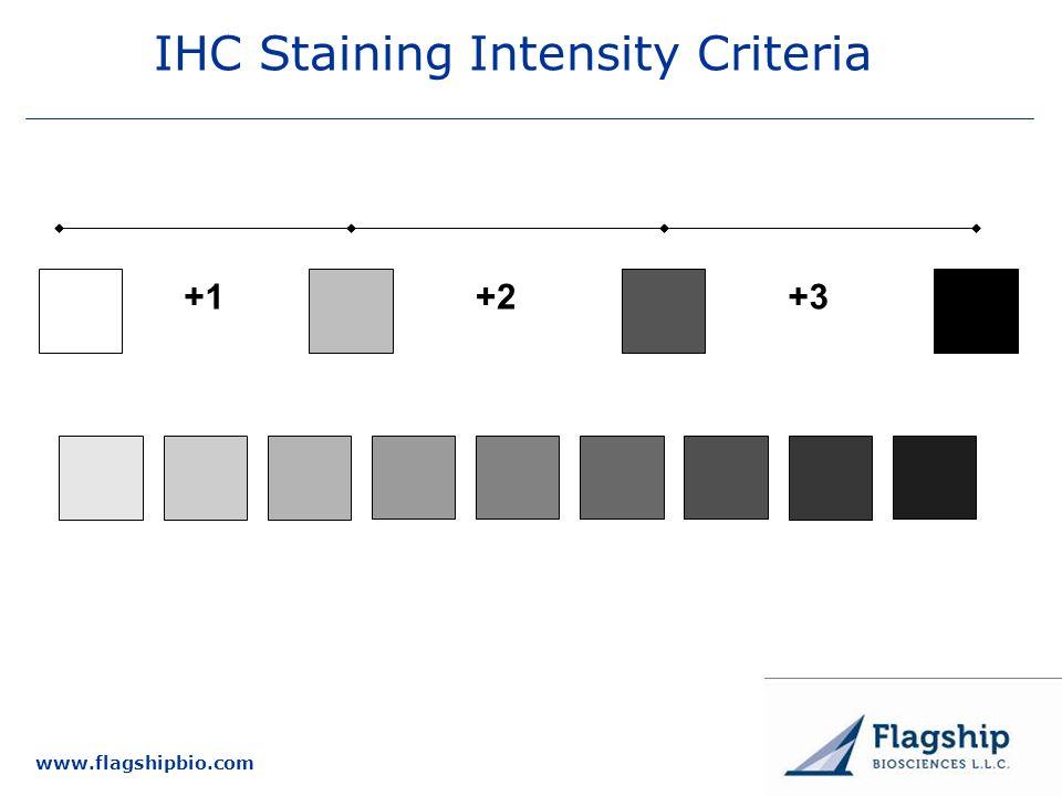 www.flagshipbio.com IHC Staining Intensity Criteria +1 +3 +2