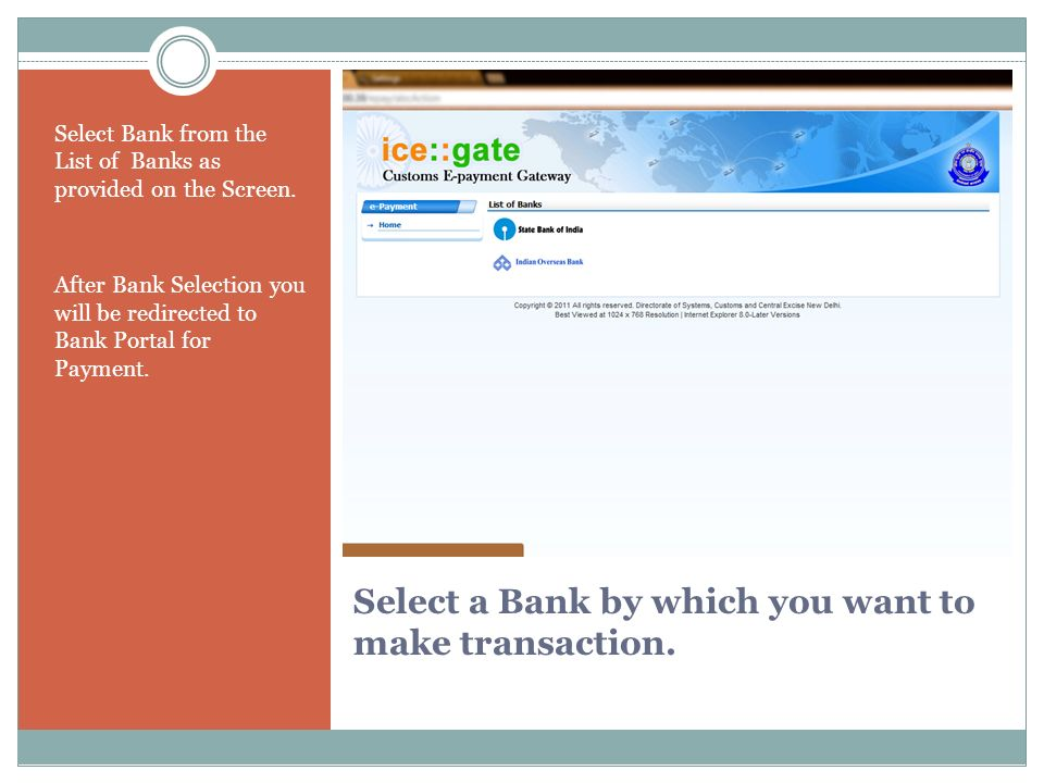 FOR FURTHER DETAILS CONTACT TOLL FREE ICEGATE HELPLINE 1800-3010-1000 OR EMAIL US ON icegatehelpdesk@icegate.gov.in Thank You from KCTC.