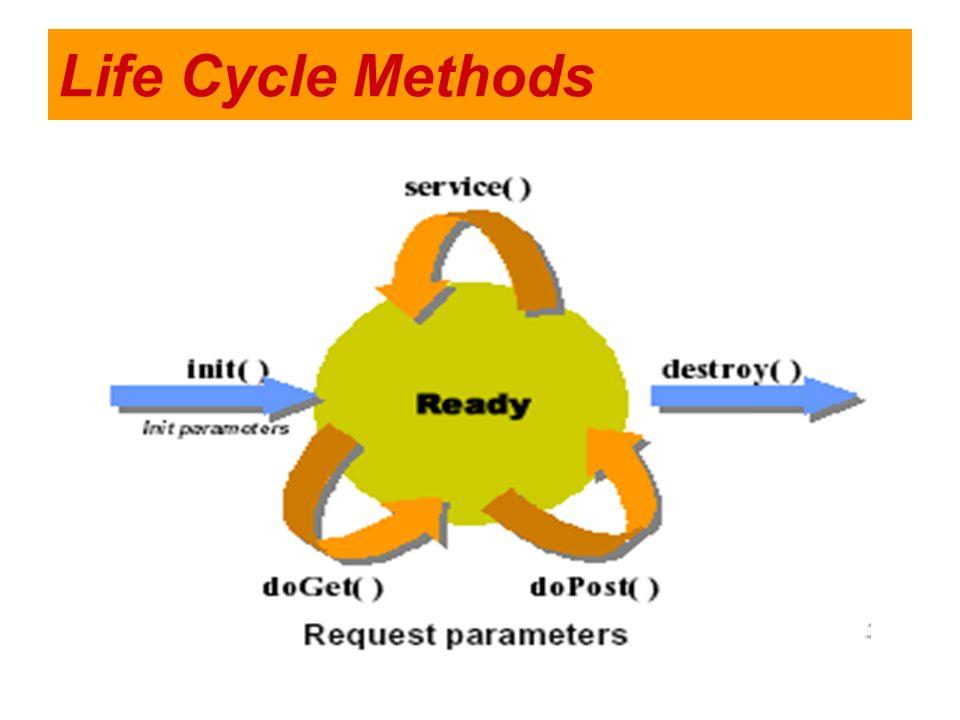 Life Cycle Methods