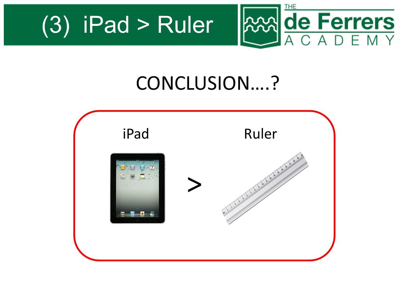 (3) iPad > Ruler > iPadRuler CONCLUSION….?