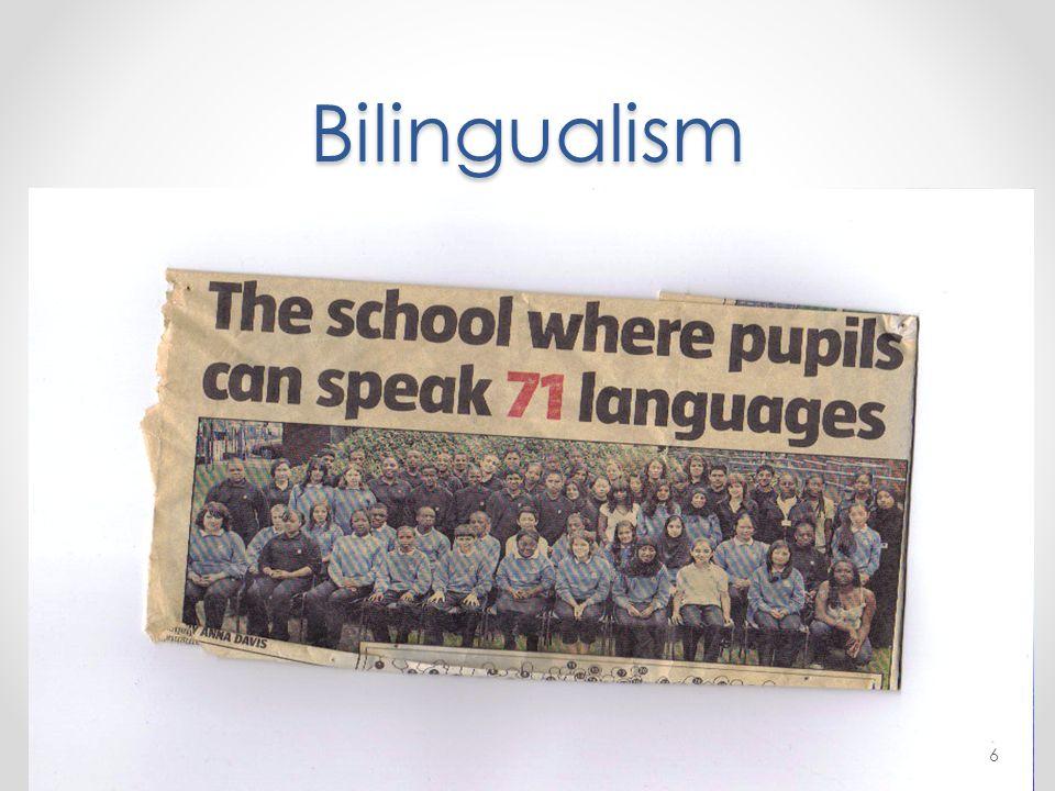 Bilingualism 6