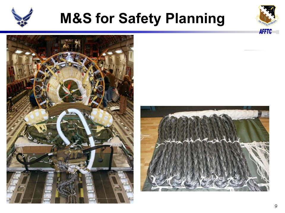 M&S for Safety Planning 9