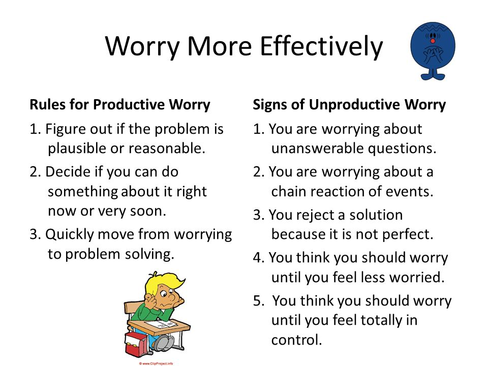 What Doesnt Work!!.1. Seeking Reassurance. 2. Trying to Stop Your Thoughts.
