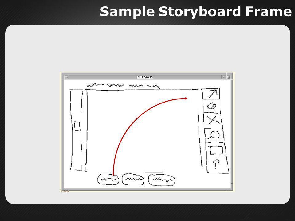 Sample Storyboard Frame