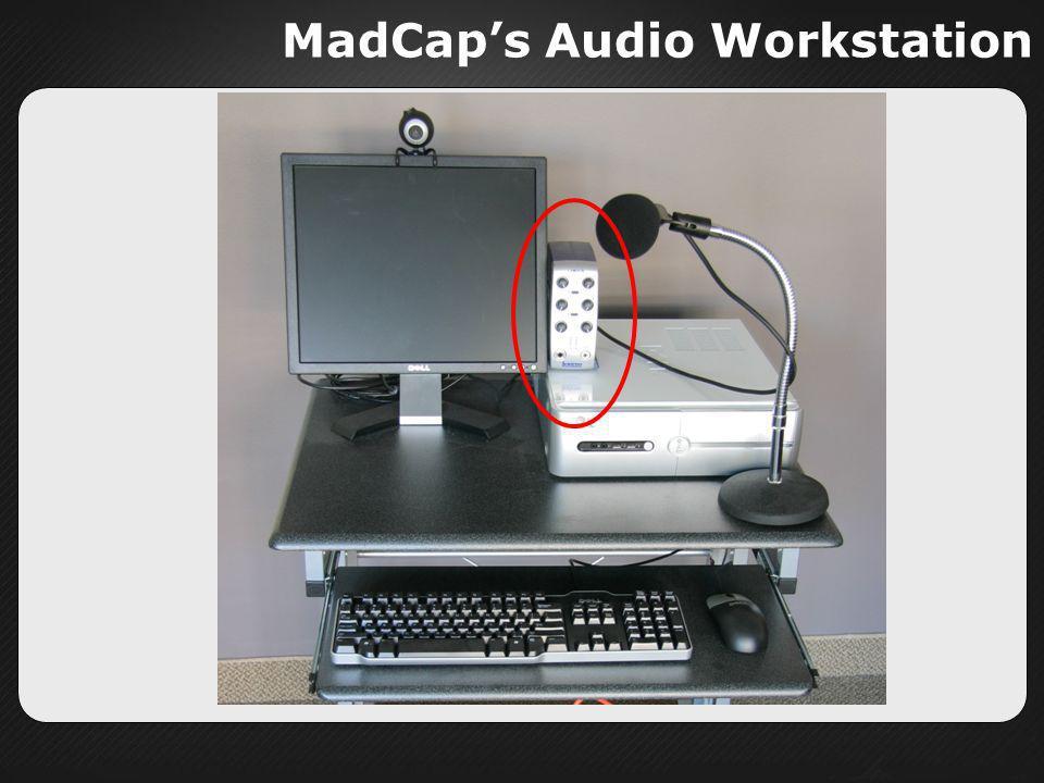 MadCaps Audio Workstation
