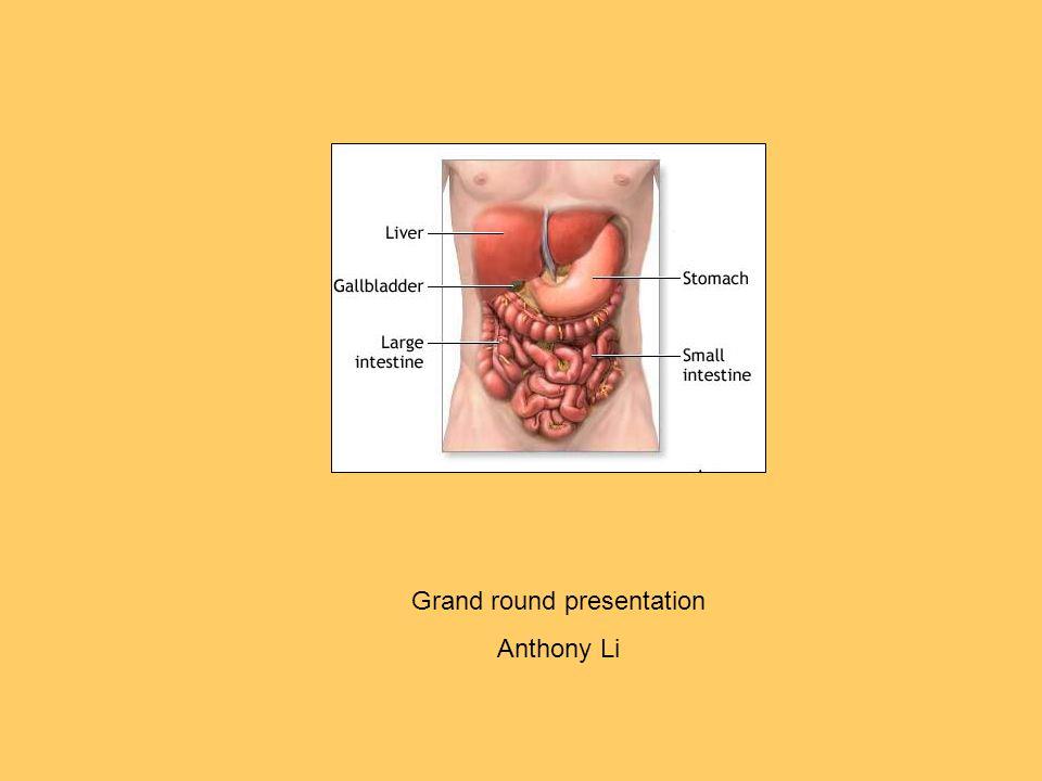 Grand round presentation Anthony Li