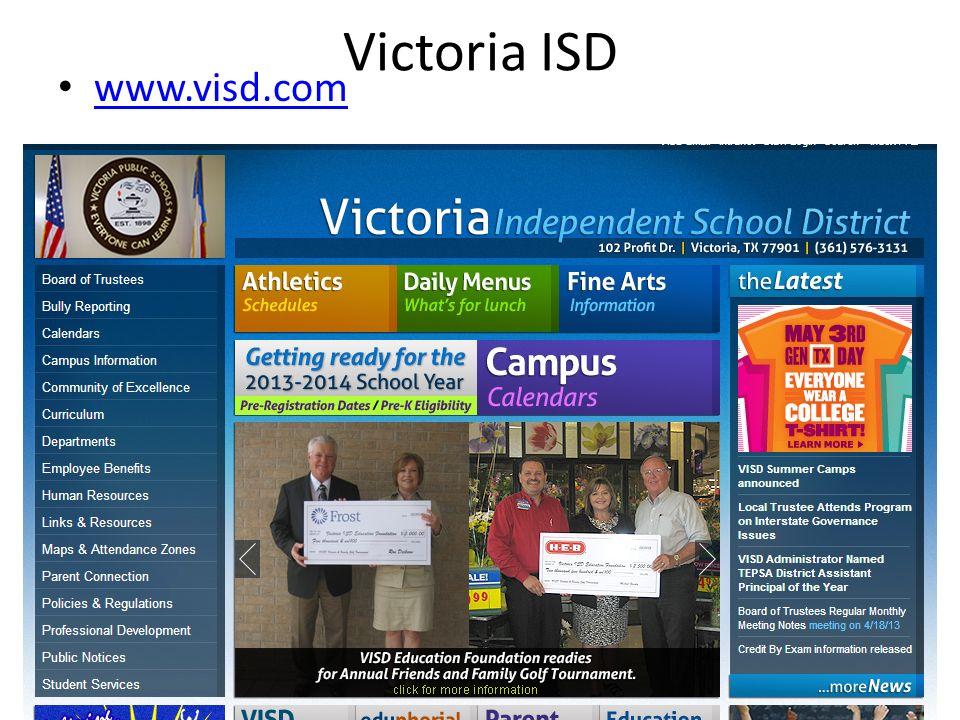 Victoria ISD www.visd.com