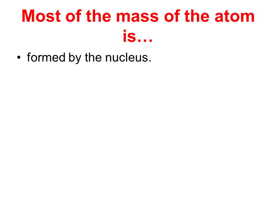 1 amu (atomic mass unit) is… 1/12 th of the mass of one carbon-12 atom.
