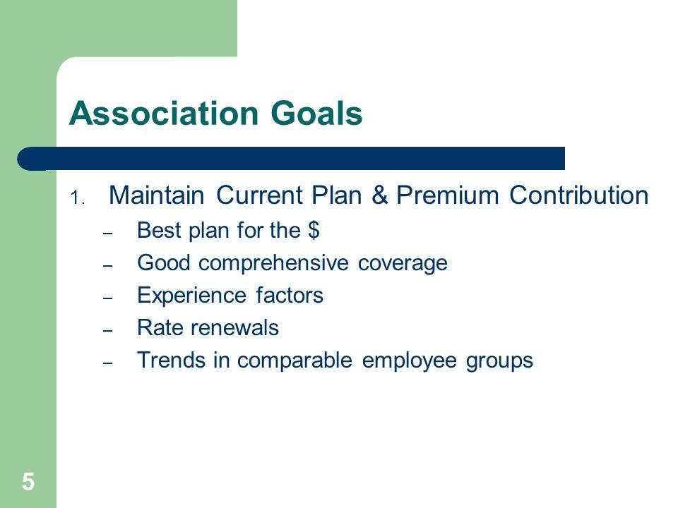 6 Association Goals 2.