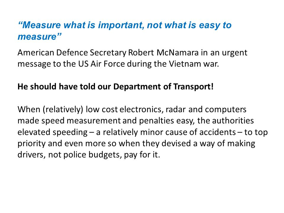 Now let s look at the claims for speed cameras benefit, in the context of what has happened for decades without them, taking Safer Roads Humber as an example: Turn to Part 11