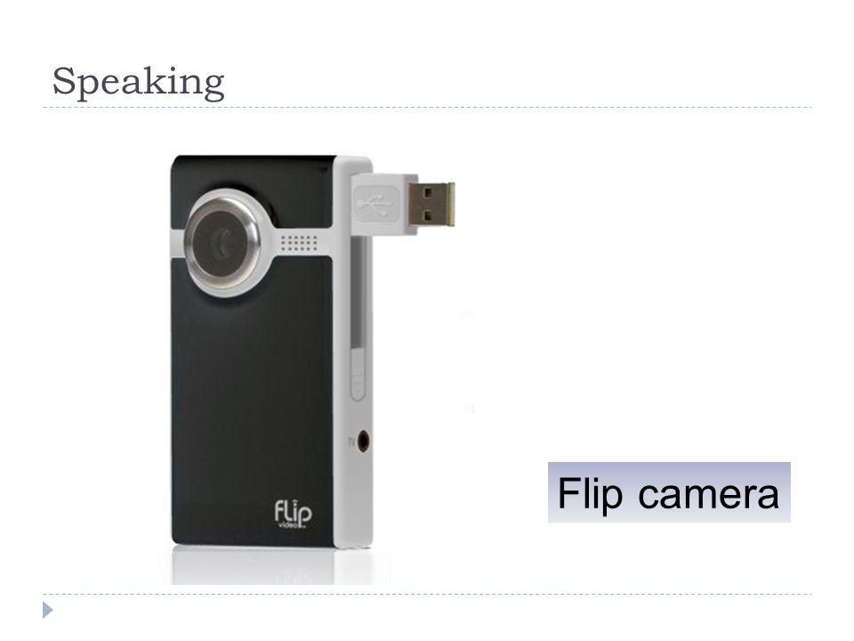 Speaking Flip camera