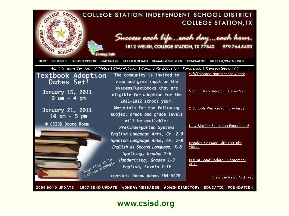 www.csisd.org