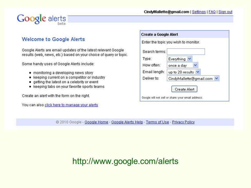 http://www.google.com/alerts