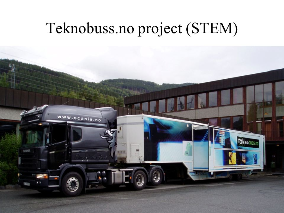 Teknobuss.no project (STEM) 3