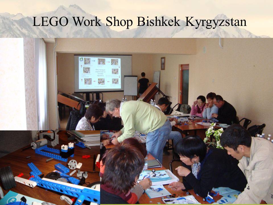 4 LEGO Work Shop Bishkek Kyrgyzstan