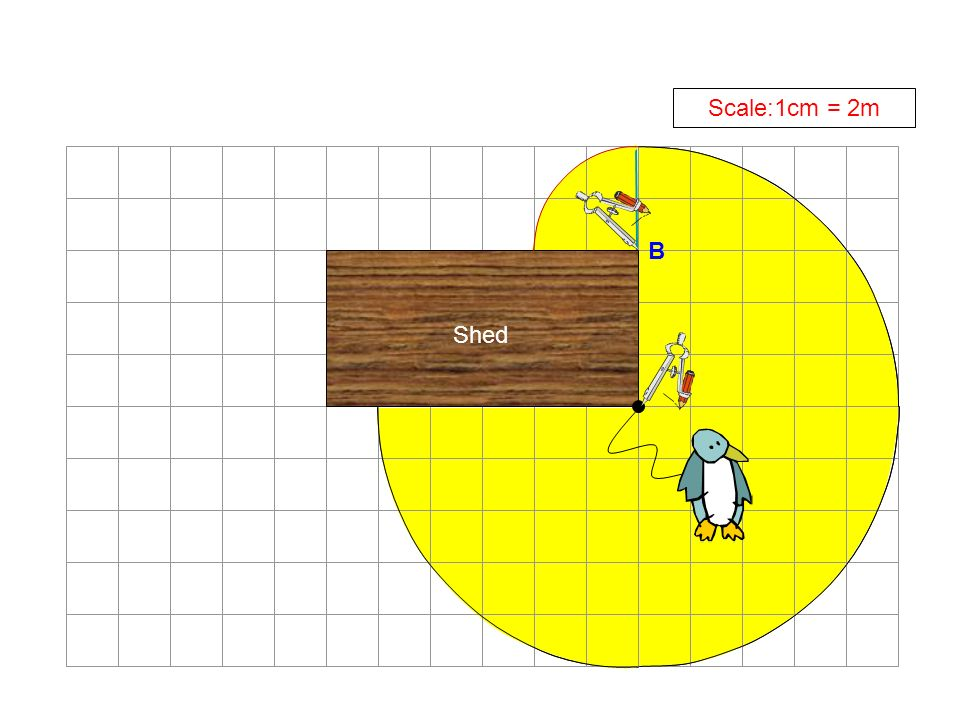 Shed Scale:1cm = 2m B