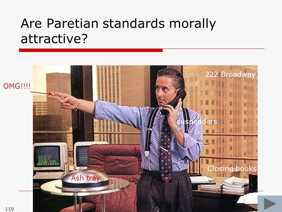 Are Paretian standards morally attractive. 119 OMG!!!.